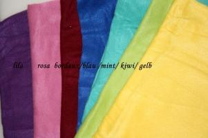 Fleece-Farben